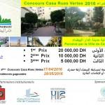 Concours Casa Rues Vertes 2016